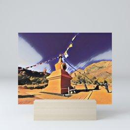 Stupa Mini Art Print
