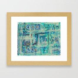 The Labirinth Framed Art Print