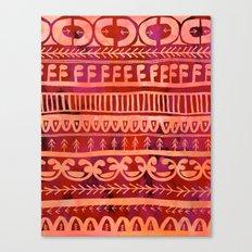 Noni- Orange Canvas Print