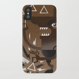 """Wolf"" Monster Rock iPhone Case"