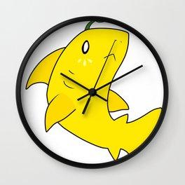 Lemon Shark Wall Clock