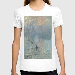 Claude Monet's Impression, Soleil Levant T-shirt