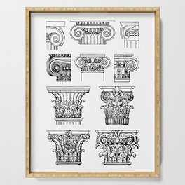 Order of columns Serving Tray