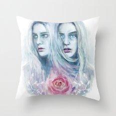 Amaurosis Throw Pillow