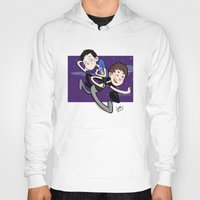 phil jones Hoodies featuring Dan & Phil by gabitozati