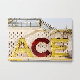 Ace Hotel Palm Springs Metal Print