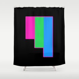 Polysexual Shower Curtain