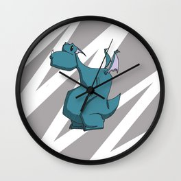 Leopold the Monster Wall Clock