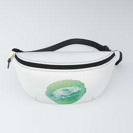 Watercolor Certified Bird Lover? T-shirt Design Birdline Fly High Feather Parrot Wings Zoo Sky Fanny Pack
