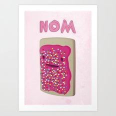 Nom Art Print