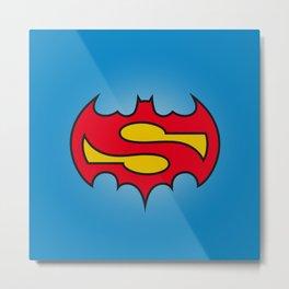 Superbatman comic Metal Print