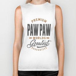 Gift for PawPaw Biker Tank
