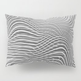Black And White Mindset Pillow Sham