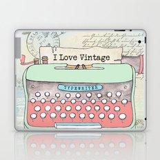 Typewriter #2 Laptop & iPad Skin