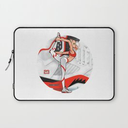 "Yoga girl Cool Noodle and ""Fire Red"" Laptop Sleeve"