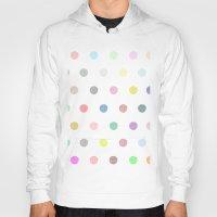 polka dots Hoodies featuring Polka dots by Ben Nguyen