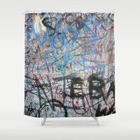 urban Shower Curtains featuring Urban by Sophie Broyd