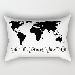 Oh The Places You'll Go Rectangular Pillow