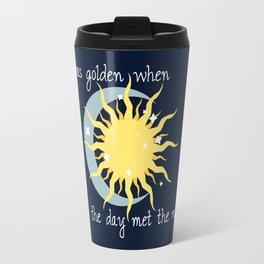 When the Day met the Night Travel Mug