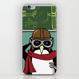 Little Penguin, Big Plans iPhone Skin
