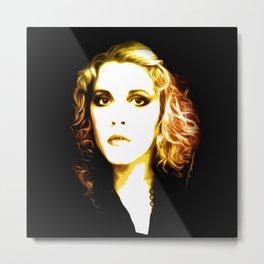 Stevie Nicks - Dreams - Pop Art Metal Print