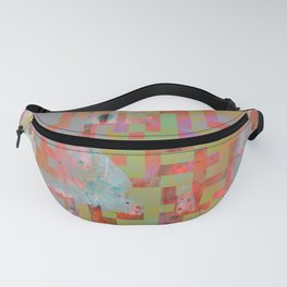 In The Belly Of The Beast Of Consumerism Fanny Pack