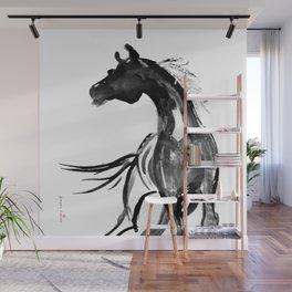 Horse (Ink sketch) Wall Mural