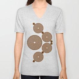 Chocolate Wheels Unisex V-Neck