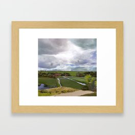 View of Haarlem (350 years later) Framed Art Print