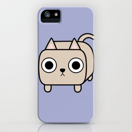 Cat Loaf - Cream Kitty iPhone Case