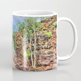 Rocks at Brachina Gorge, Flinders Ranges, Sth Australia Coffee Mug