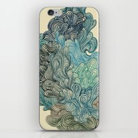 friday iPhone & iPod Skins featuring Friday Afternoon by Marcelo Romero