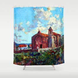 Fernando Fader Ischilin Chapel Shower Curtain