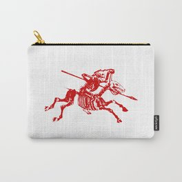 Skeleton Horse Rider Carry-All Pouch