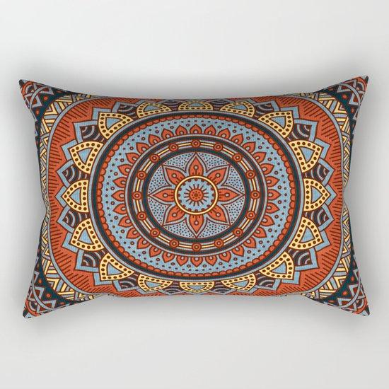 Hippie mandala 49 Rectangular Pillow