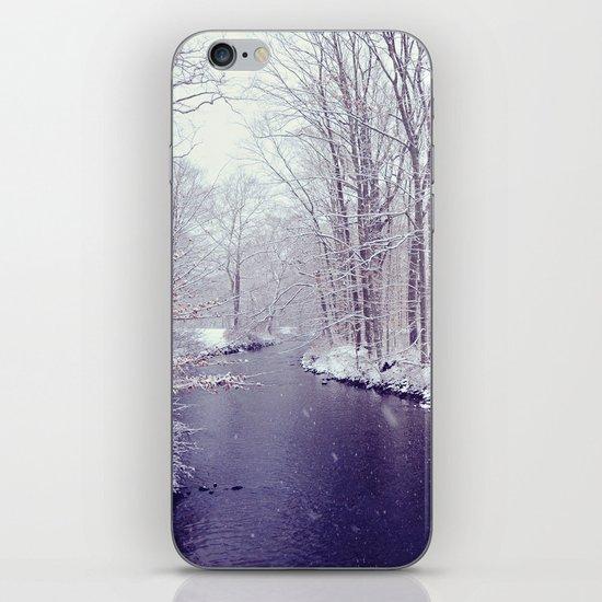 winter blues iPhone & iPod Skin