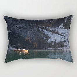 Lake Braies Rectangular Pillow