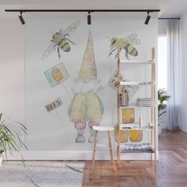 Save The Bees Wall Mural