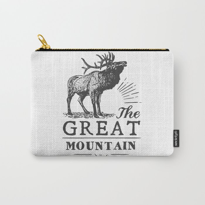 american deer Carry-All Pouch