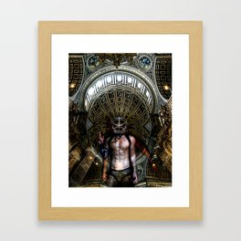 Beginning of the End | Self Portrait Framed Art Print