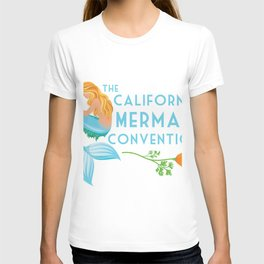 Simple Logo ·•· California Mermaid Convention T-shirt
