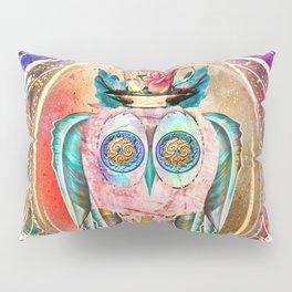 Madhatter Owl Pillow Sham