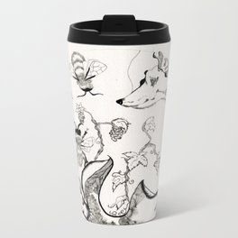 Circle of Objects And  Subjects; Round One Series Metal Travel Mug