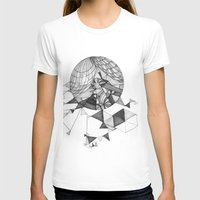 clear T-shirts featuring crystal clear by Chanda Stallman