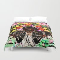 architect Duvet Covers featuring Dream Architect by GloamingWilds