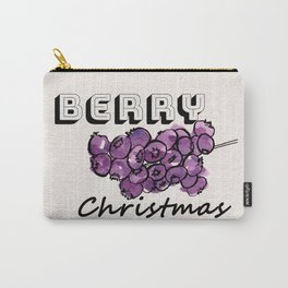 Happy berry christmas III Carry-All Pouch