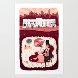 Brothel Art Print