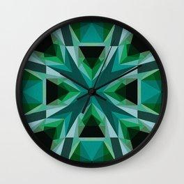 Inward Wall Clock