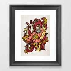 Mael Framed Art Print