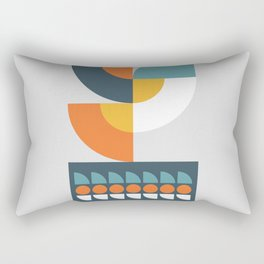 Geometric Plant 01 Rectangular Pillow